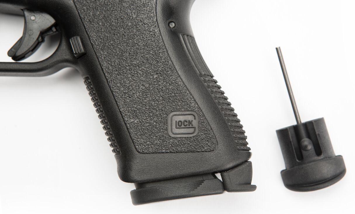 Tan GEN3 TangoDown Vickers Grip Plug Takedown Tool for Glock