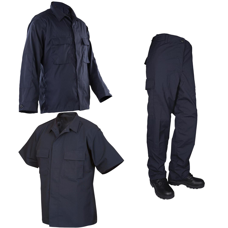 Protocol Tactical Poly/Cotton Navy Blue Anti Static Durable Rip Stop Uniform/BDU