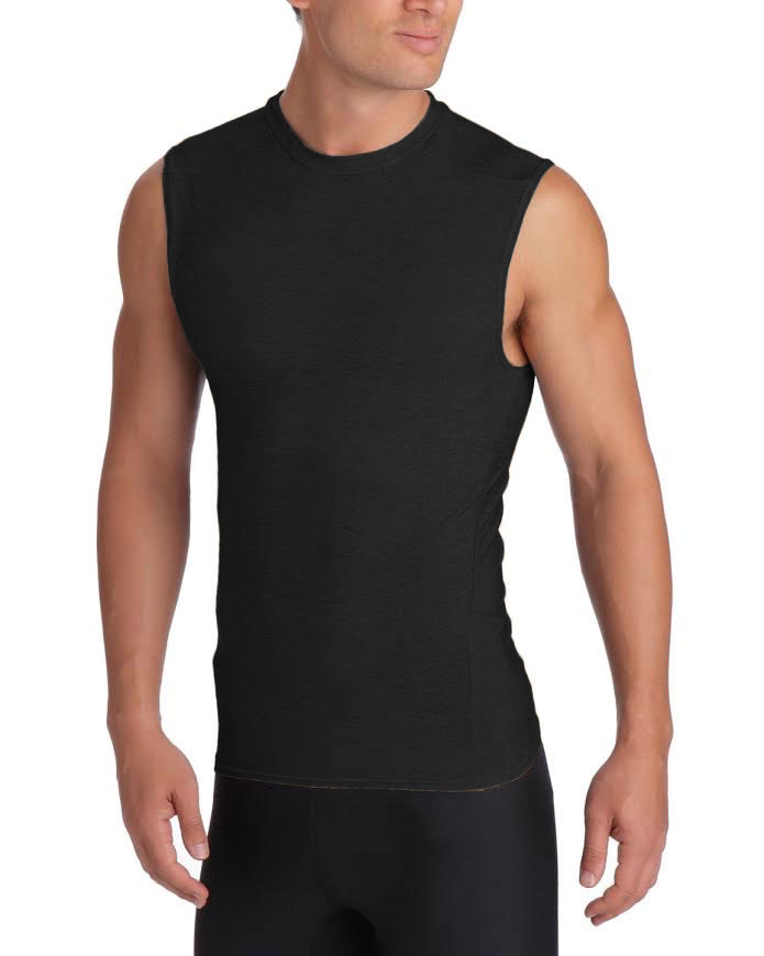 fbb0285b17 Details about 2XU Military Men's Compression Sleeveless Top, Made in USA