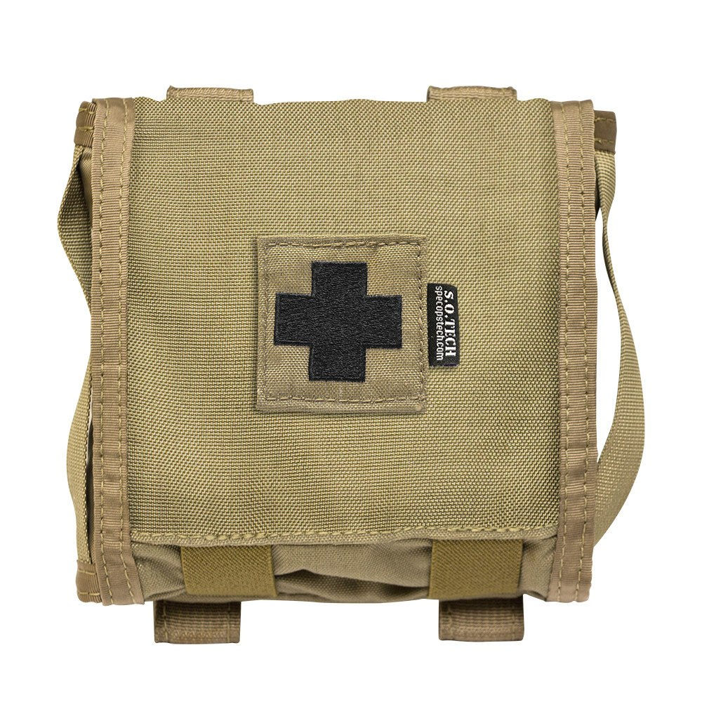 So Tech Tactical Viper Flat Le A1 First Aid Kits Coyote Brown Ebay