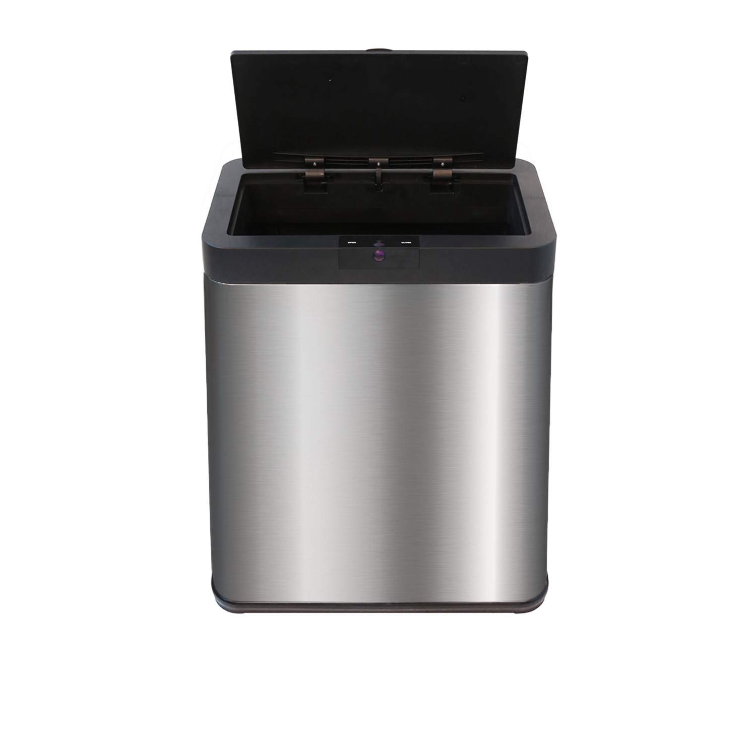 13 2 Gal Kitchen Touchless Stainless Steel Trash Can Automatic Motion Sensor Bin Ebay