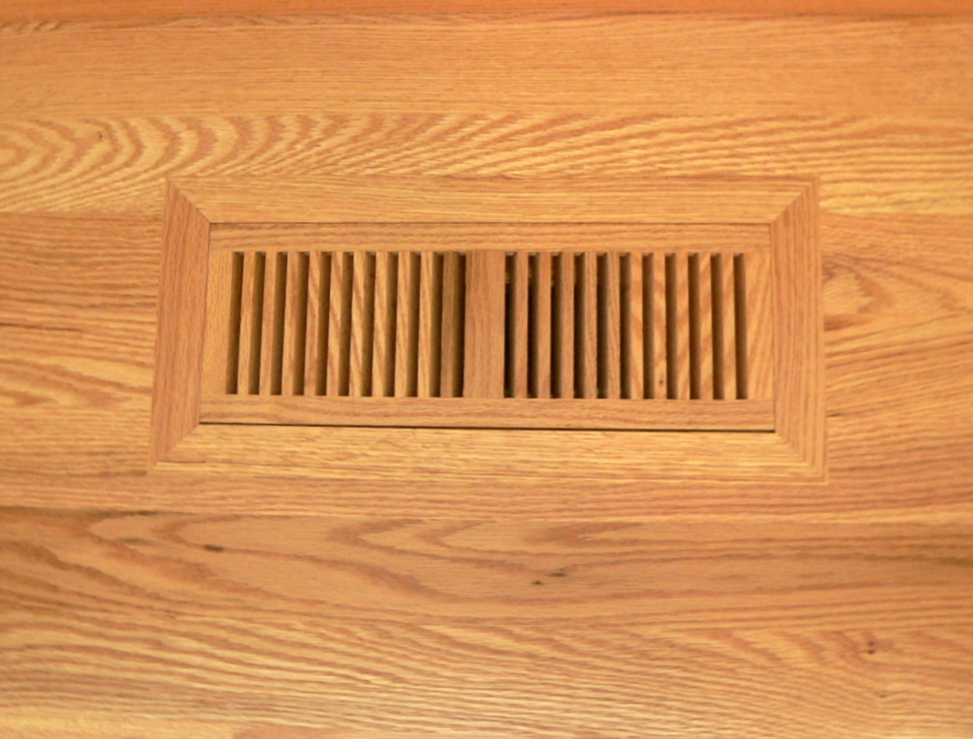 New Venice Wooden 4 Quot X12 Quot Red Oak Wood Vent Floor Register