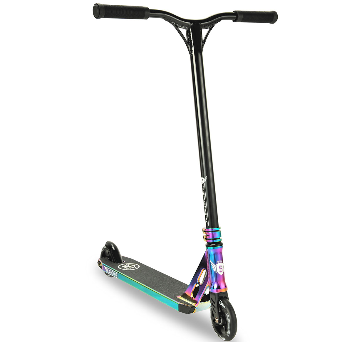 longway sector neo chrome pro stunt kids kick scooter. Black Bedroom Furniture Sets. Home Design Ideas