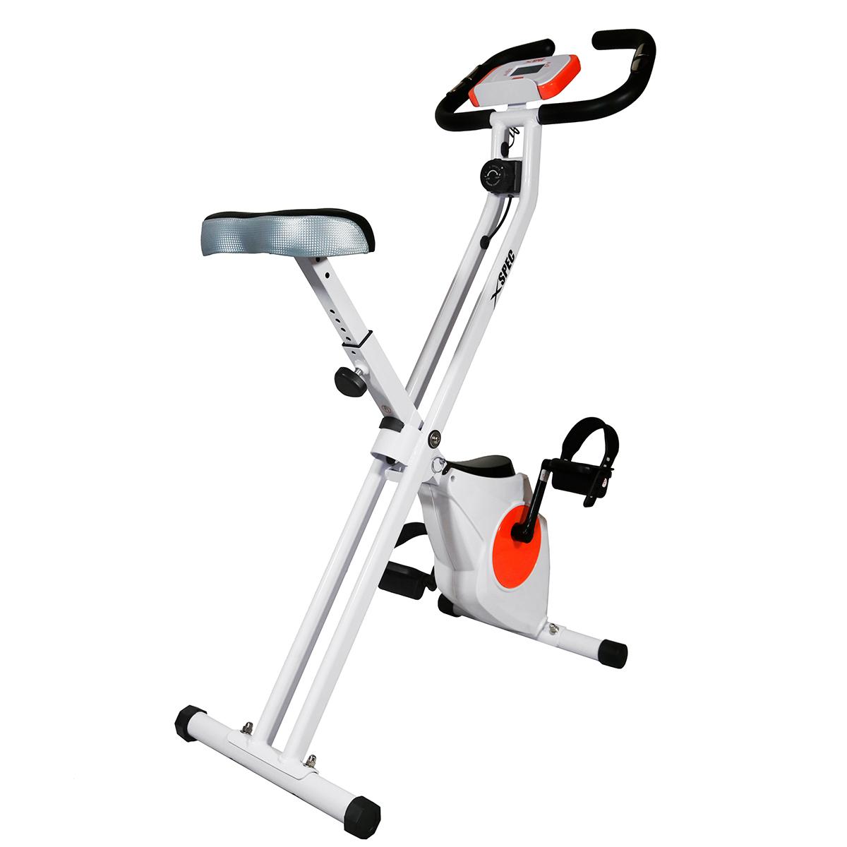 Exercise Bike Next Day Delivery: Xspec Foldable Stationary Upright Exercise Bike Cardio