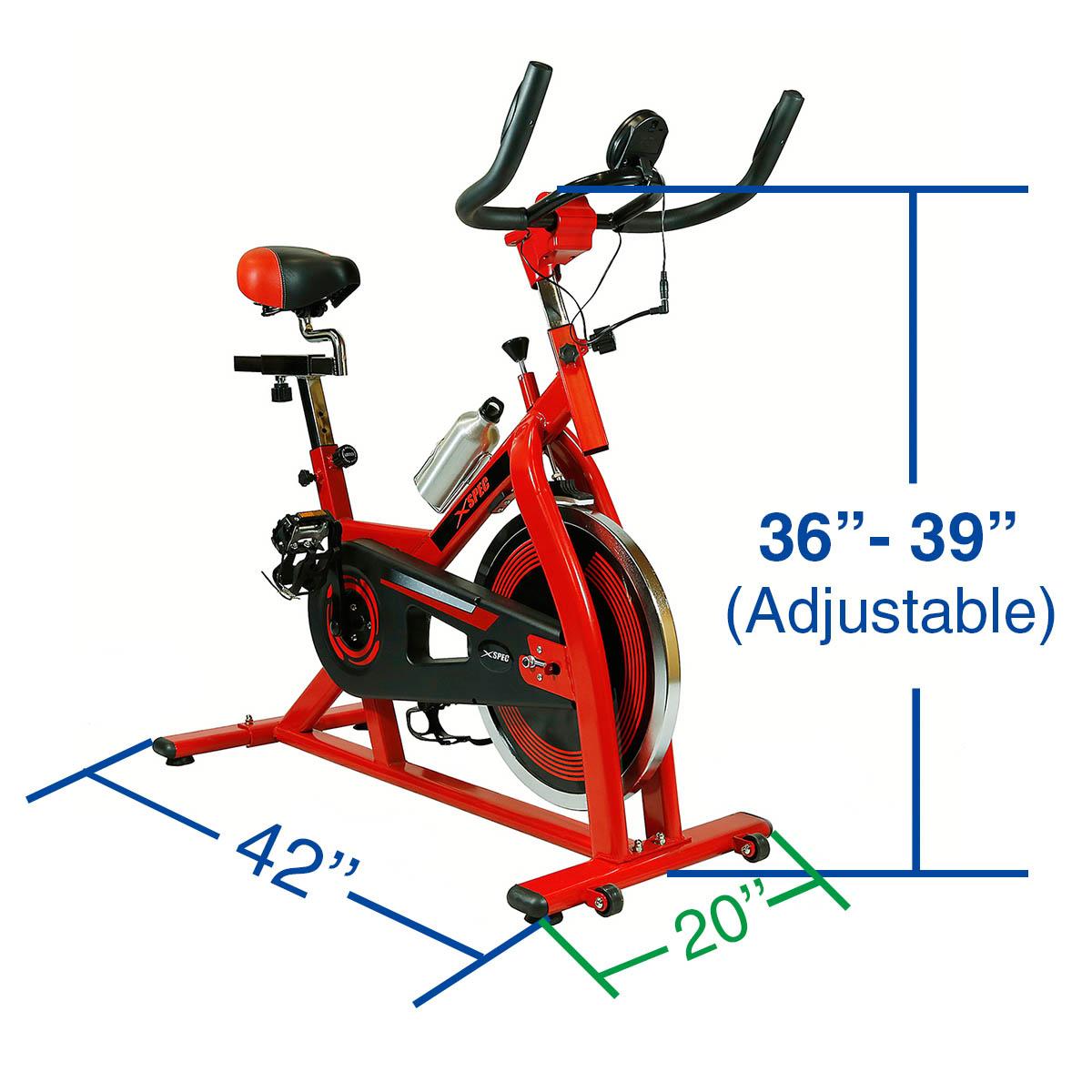 NEW Xspec Pro Stationary Upright Exercise Bike Cardio ...