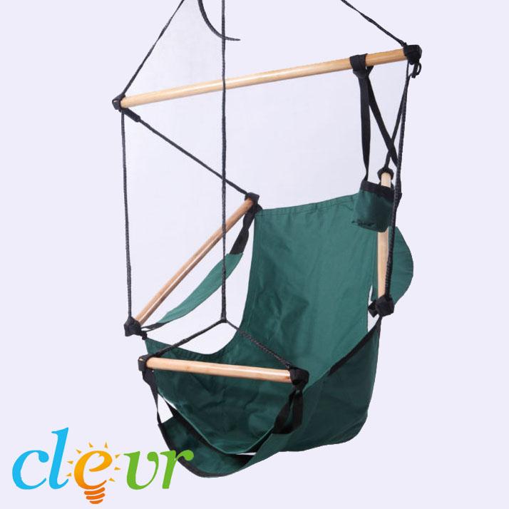 New Deluxe Hammock Hanging Patio Tree Sky Swing Chair