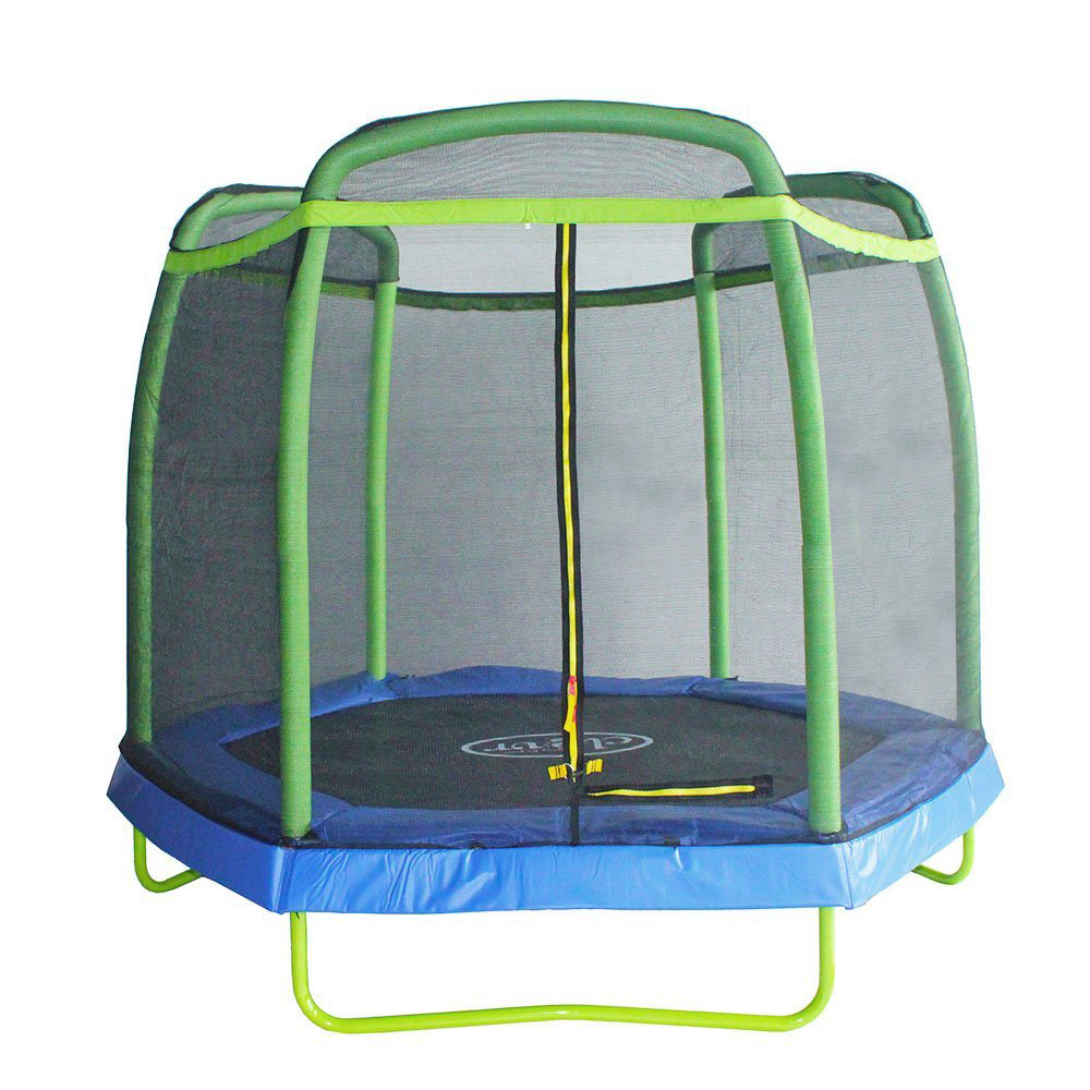 New 14ft Trampoline Combo Bounce Jump Safety Enclosure Net: Clevr 7 Ft. Trampoline Bounce Jump Safety Enclosure Net W