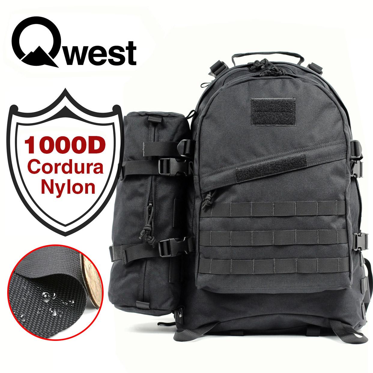 Details about 42L Camping Military Rucksack Tactical Backpack Travel Hiking  Bag bonus 10L bag cdd7ada2339b1