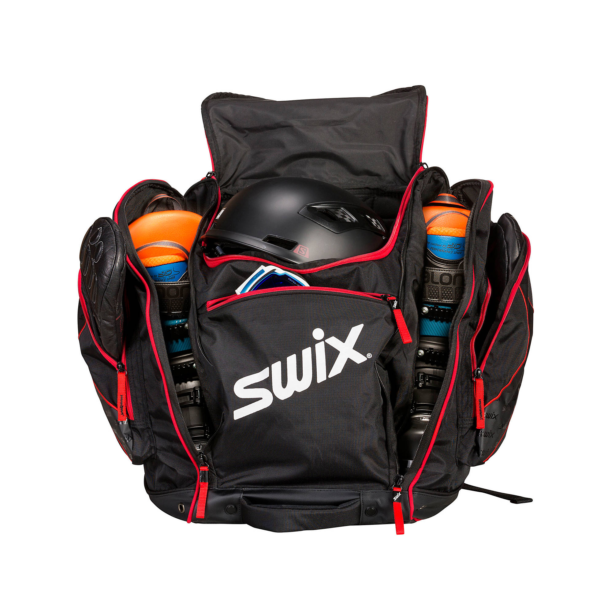 Details about Swix Norwegian Ski Boot Bag Red SW23 571b367e75ad2