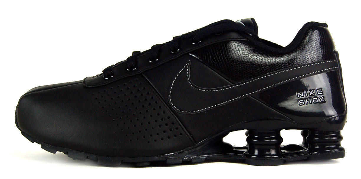 Black Nike Shox Deliver  a7f6009a9