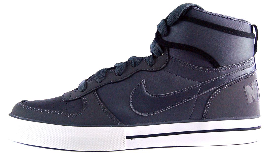 Nike Big Nike High AC Sz 11 Mens Basketball Shoes Gray Black