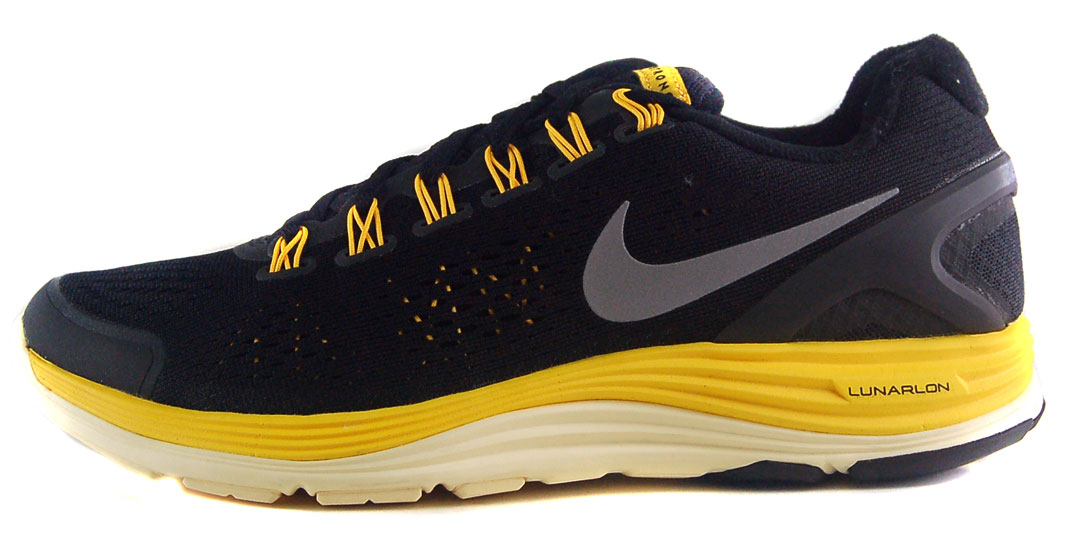 c4ac3373be52 ... nike lunarglide 4 livestrong sz 12.5 mens running shoes black yellow .  ...