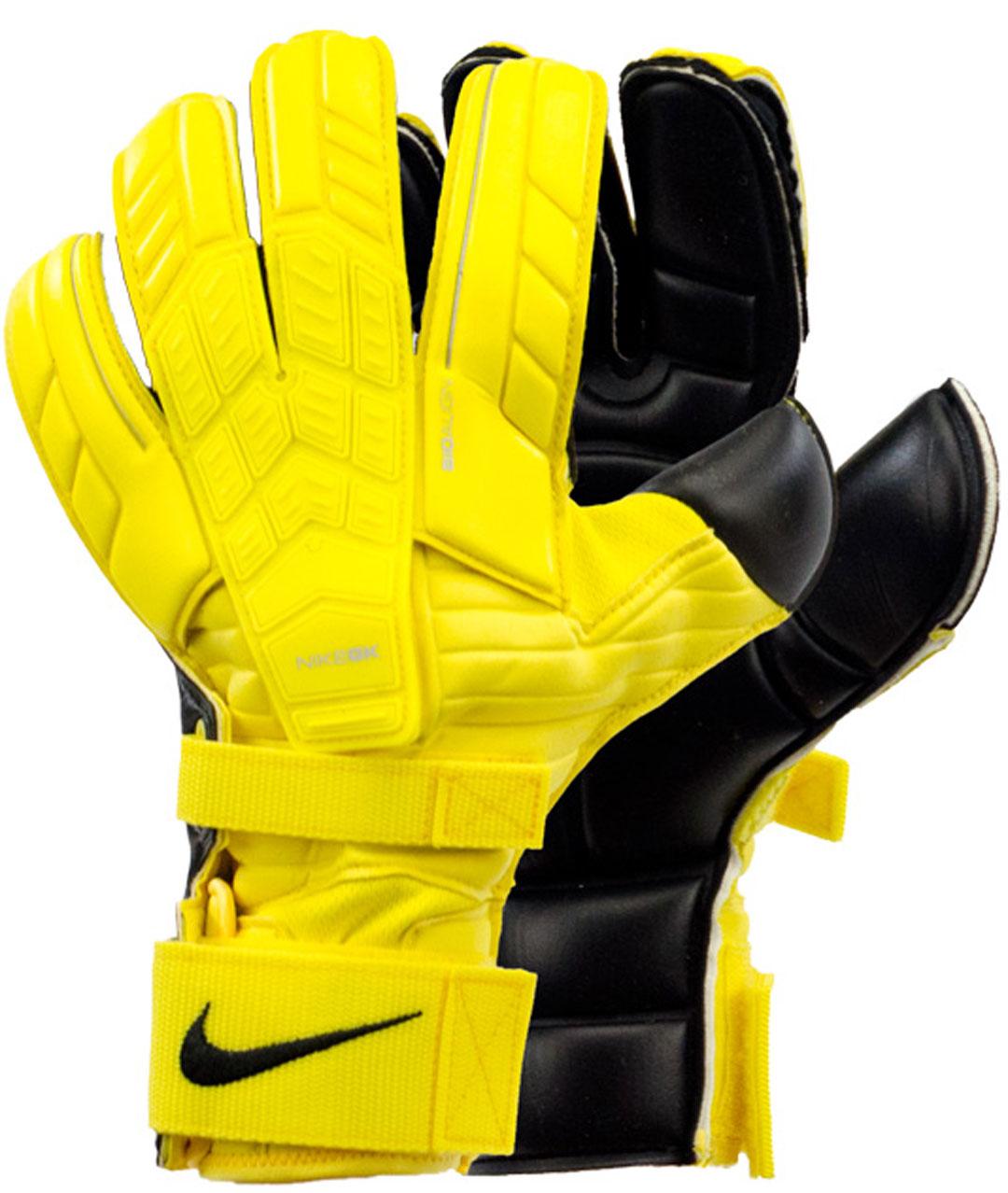 Nike Keeper Gloves: Nike GK Confidence Goalkeeper Goalie Gloves Size 7 Yellow