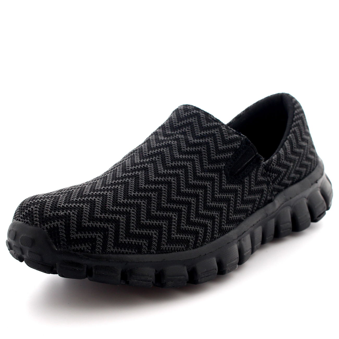 Mens Slip On Outdoor Walking Shoes
