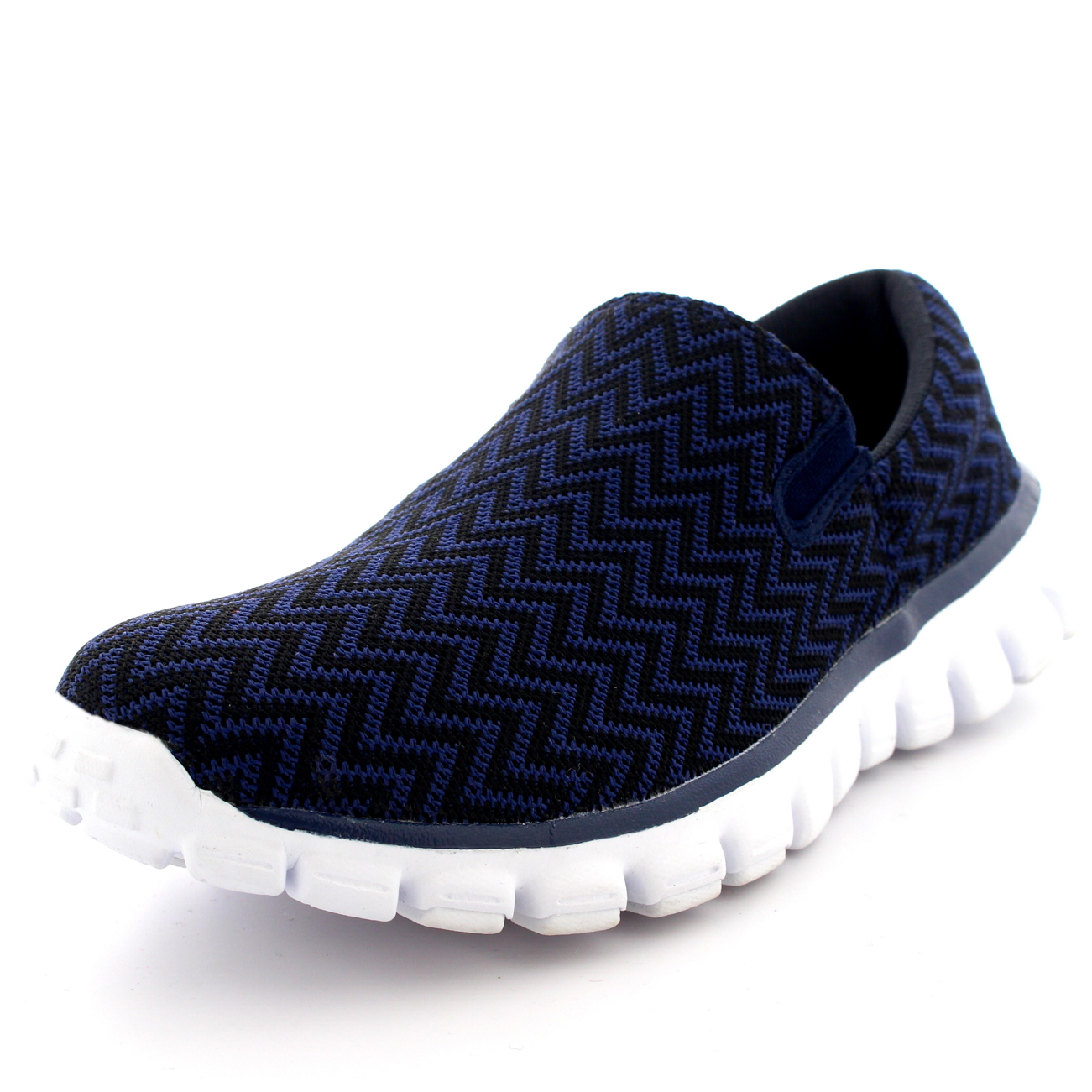 892859d9b4e6 Mens Sports Running Slip On Walking Gym Shoes Office Jogging ...