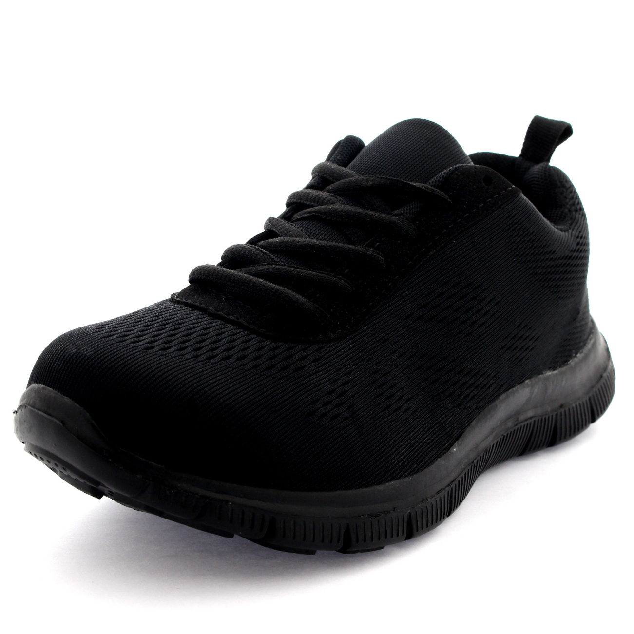 Womens-Get-Fit-Mesh-Running-Trainers-Athletic-Walk-