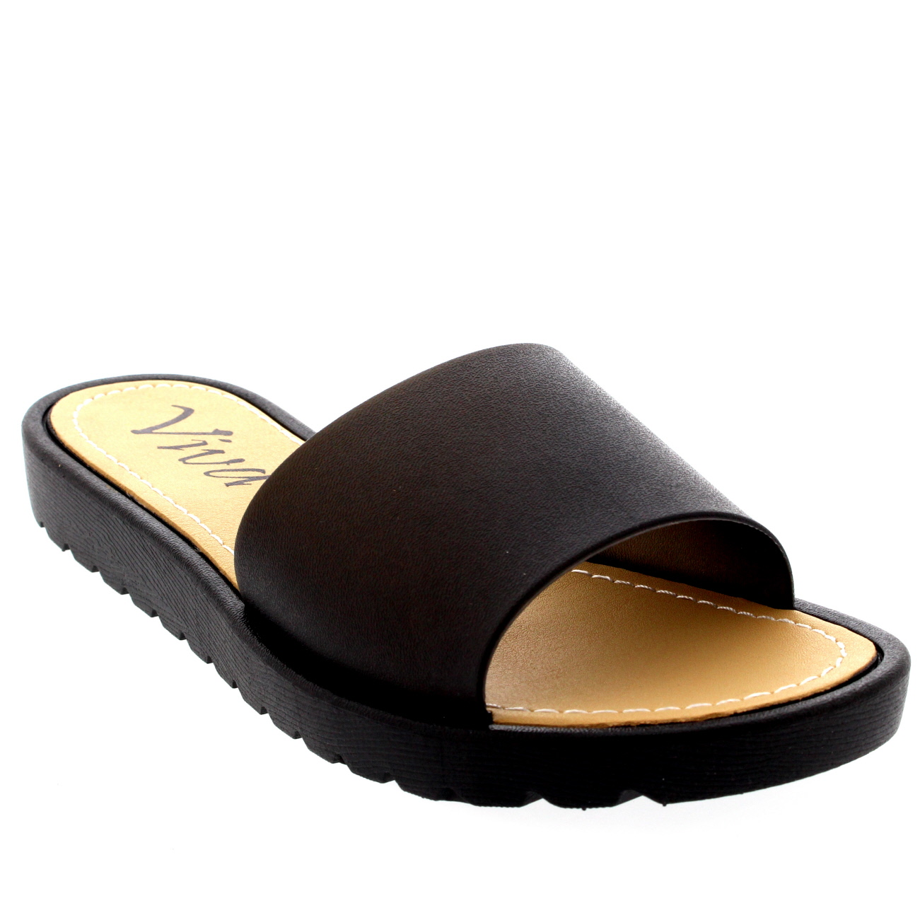 Womens Jelly Peep Toe Summer Pool Sliders Holiday Shoes ...