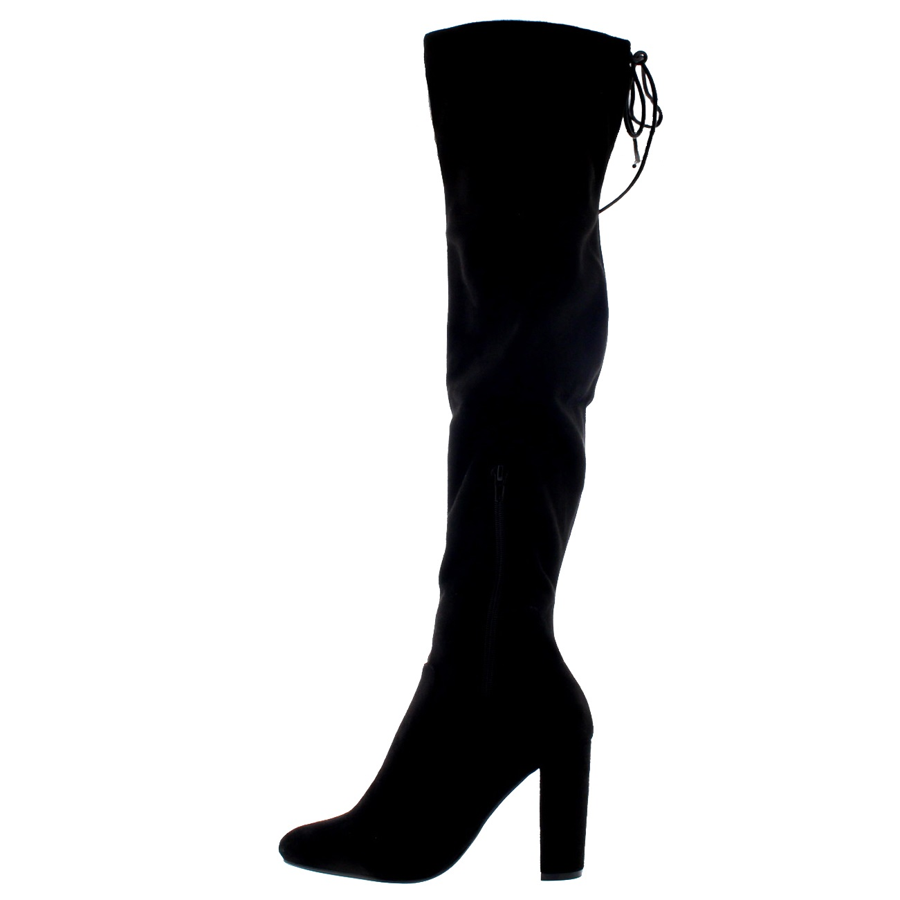 Knee Riding Wide Fit High Boots UK