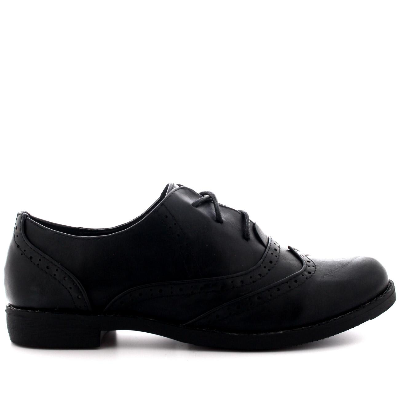 Gorra De Ala para Mujer Formales Trabajar Vintage Formal Zapatos planos de oficina de diseño UK 3-10