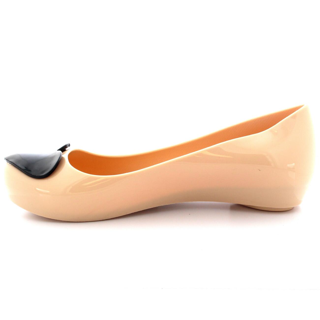 27fdbda37fd1 Womens Flat Slip On Jelly Love Heart Work Ballerina Ballet Summer ...