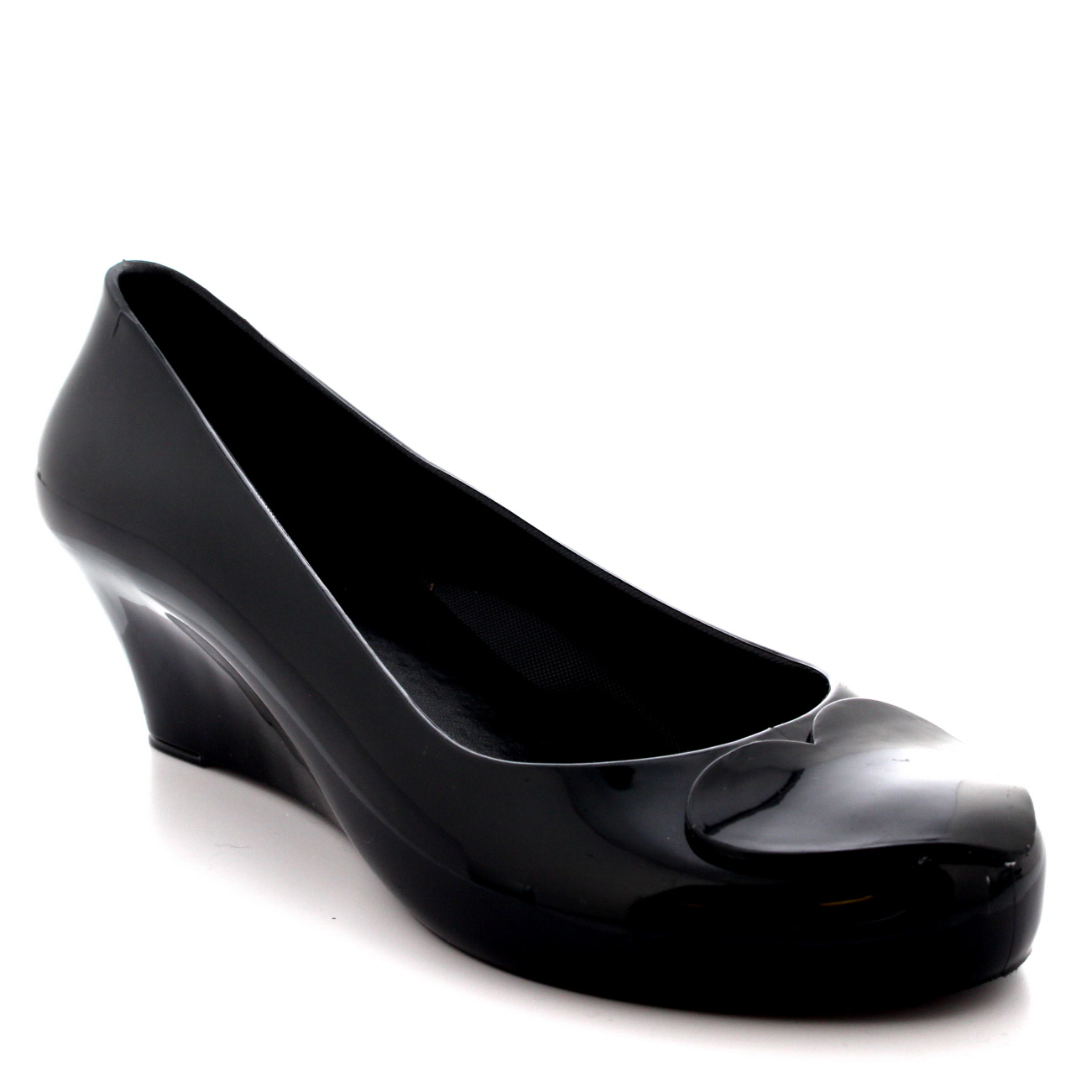 Black Jelly Ballet Shoes