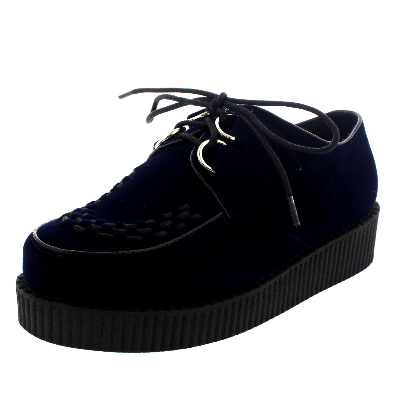 Black Punk Platform Shoes Se