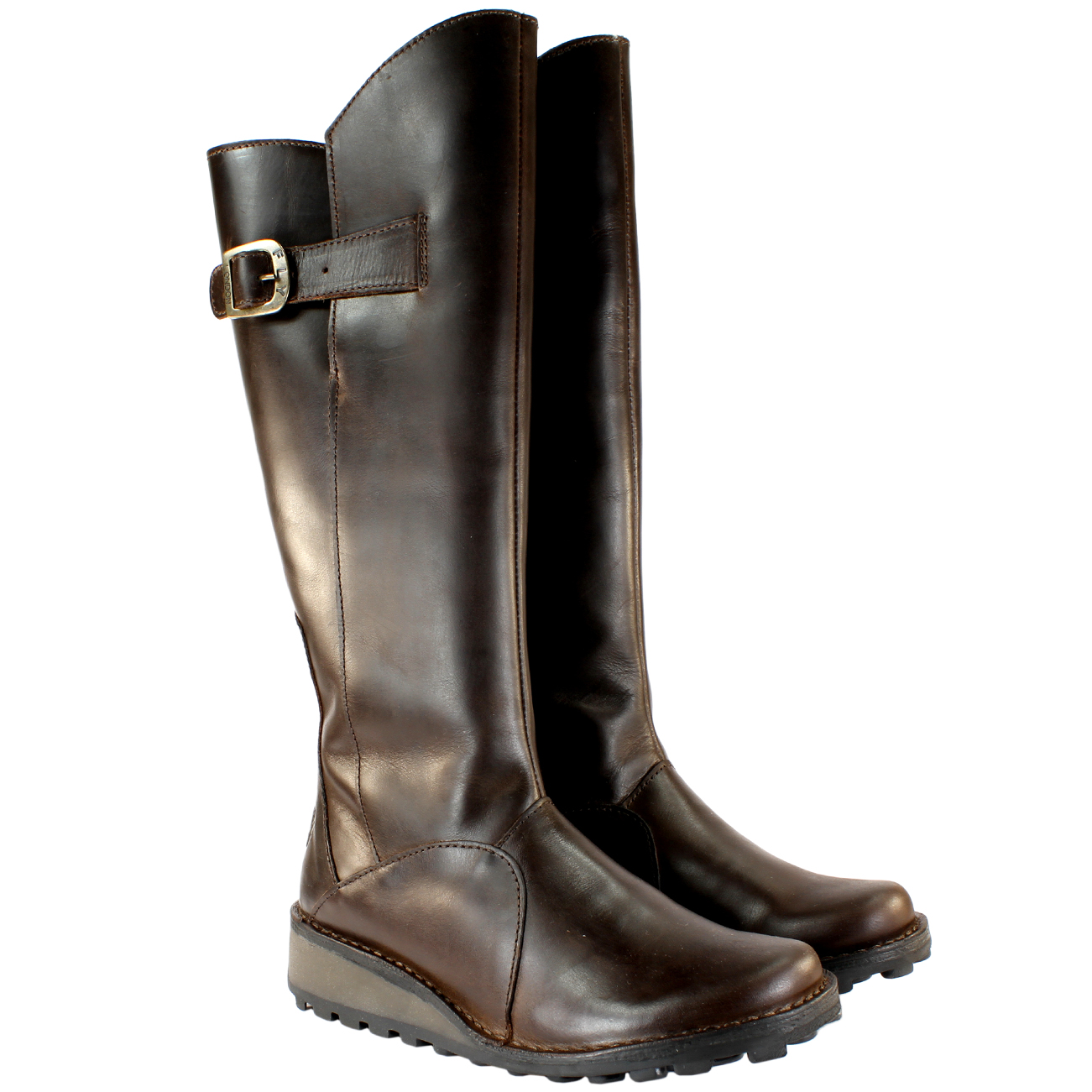 Fly London Mol Warm Leather Fur Lined Boots