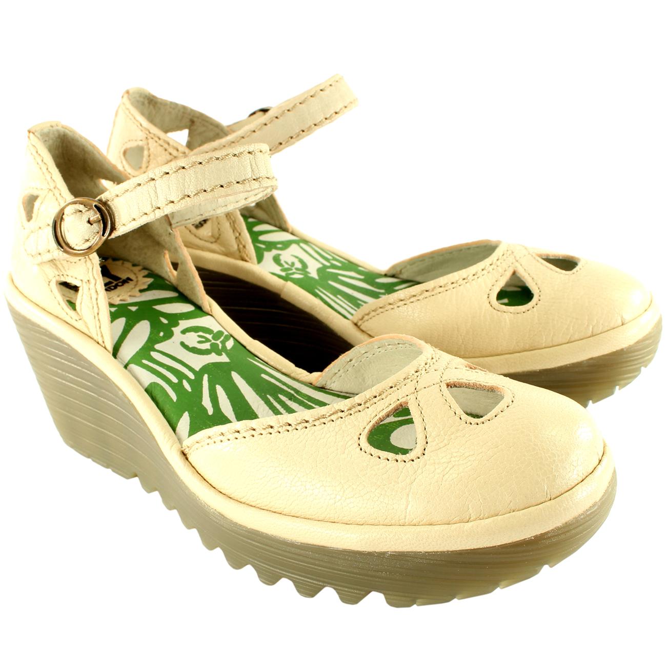 Fly London Yuna Wedge Heel Sandals