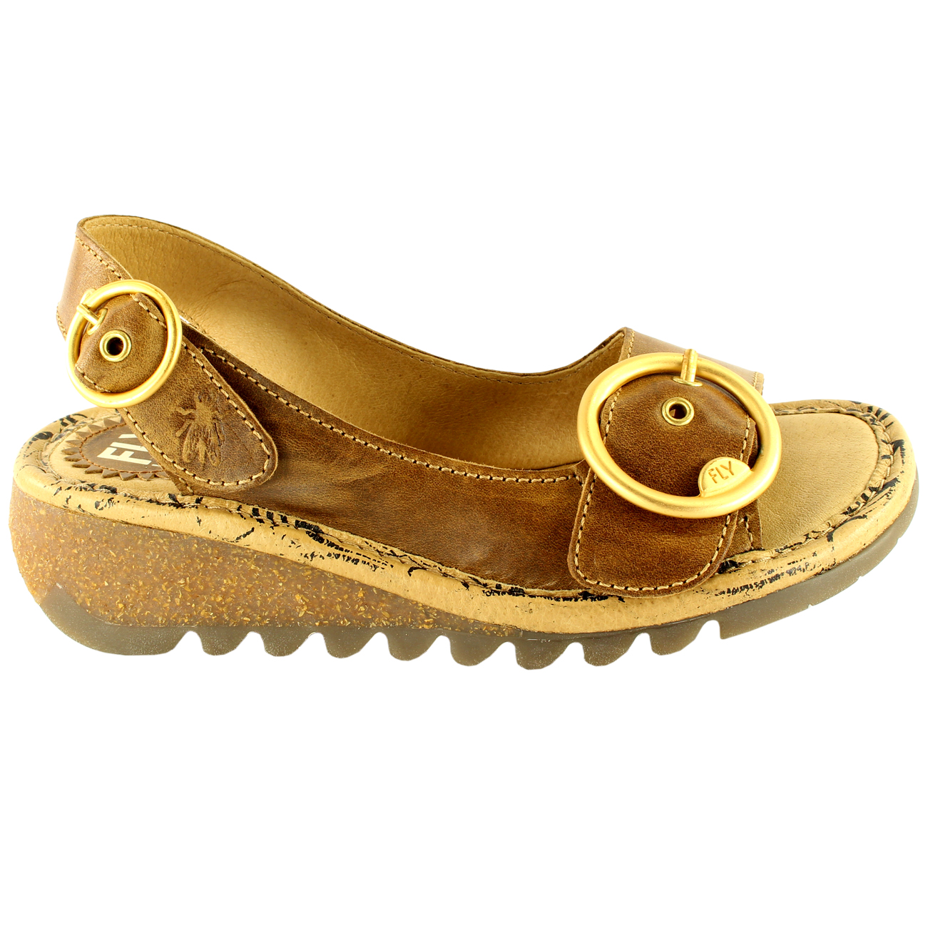 Womens-Fly-London-Tram-Low-Wedge-Summer-Holiday-Buckle-Peep-Toe-Sandals-UK-3-8 thumbnail 17