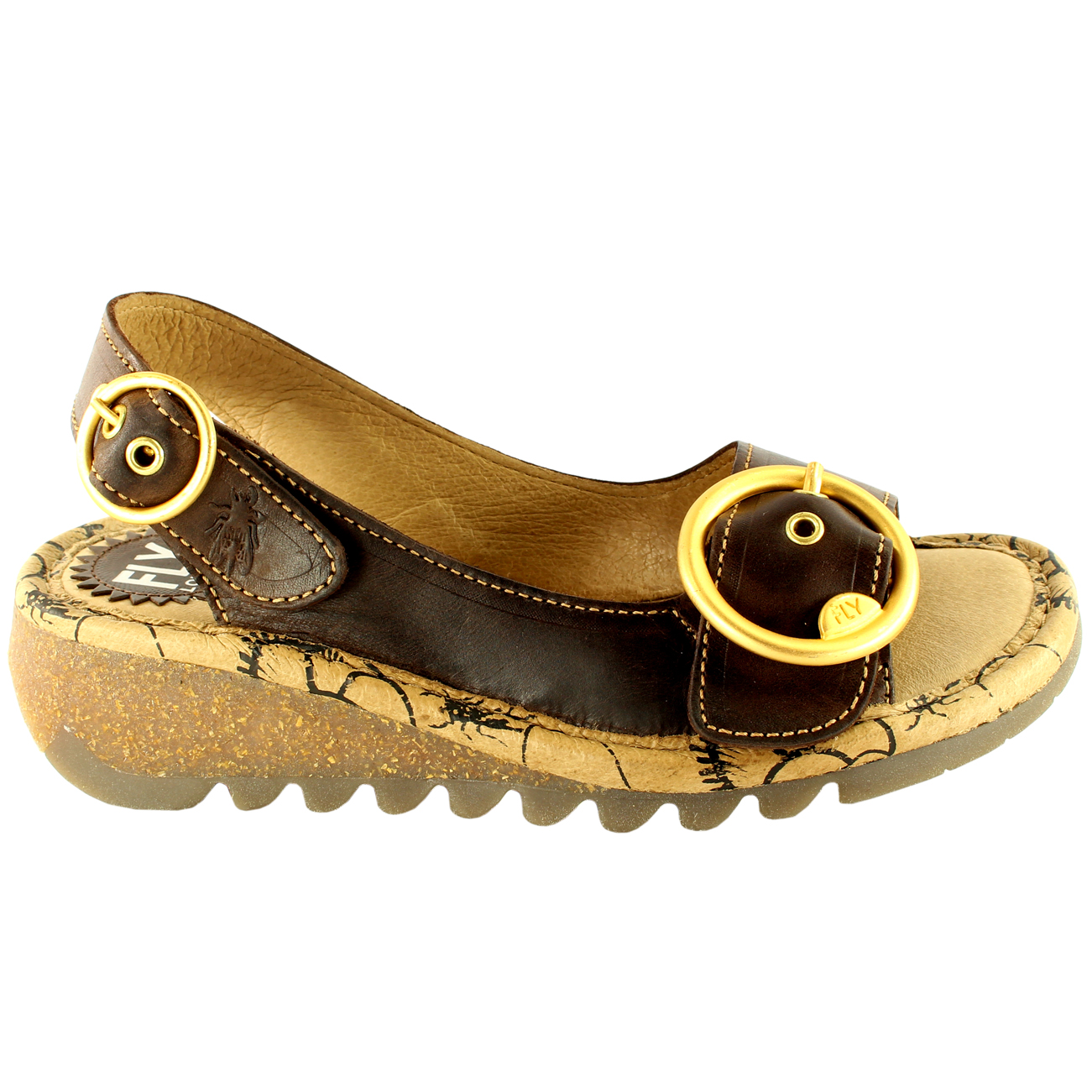 Womens-Fly-London-Tram-Low-Wedge-Summer-Holiday-Buckle-Peep-Toe-Sandals-UK-3-8 thumbnail 21