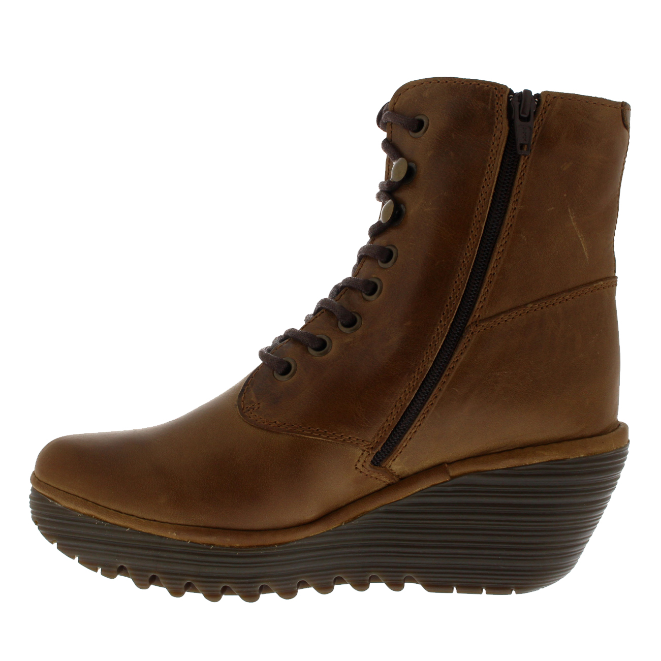 Womens Fly London Ygot Warm Leather