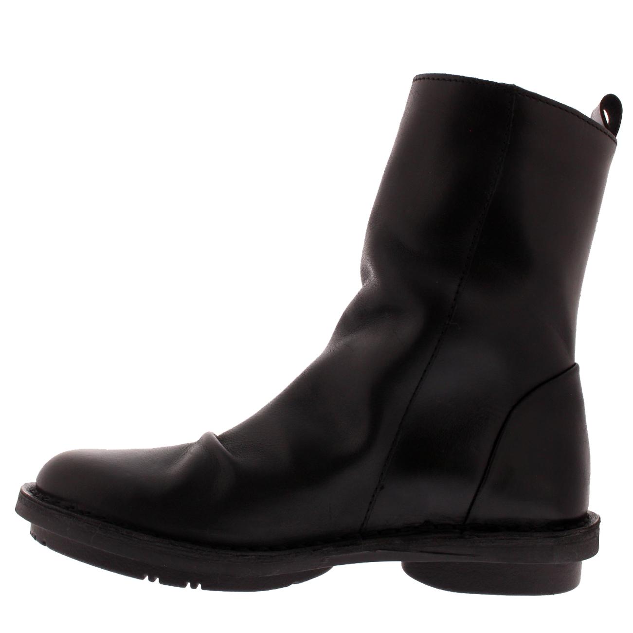 Mujer Fly London Fade Cuero Trabajo De Invierno de botas al tobillo de Invierno moda Slouch UK 3-10 184b30