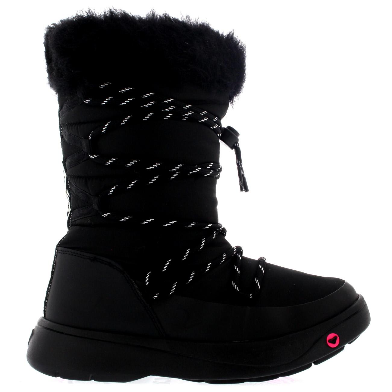 Womens Roxy Summit Boot Waterproof Winter Snow Rain Fur