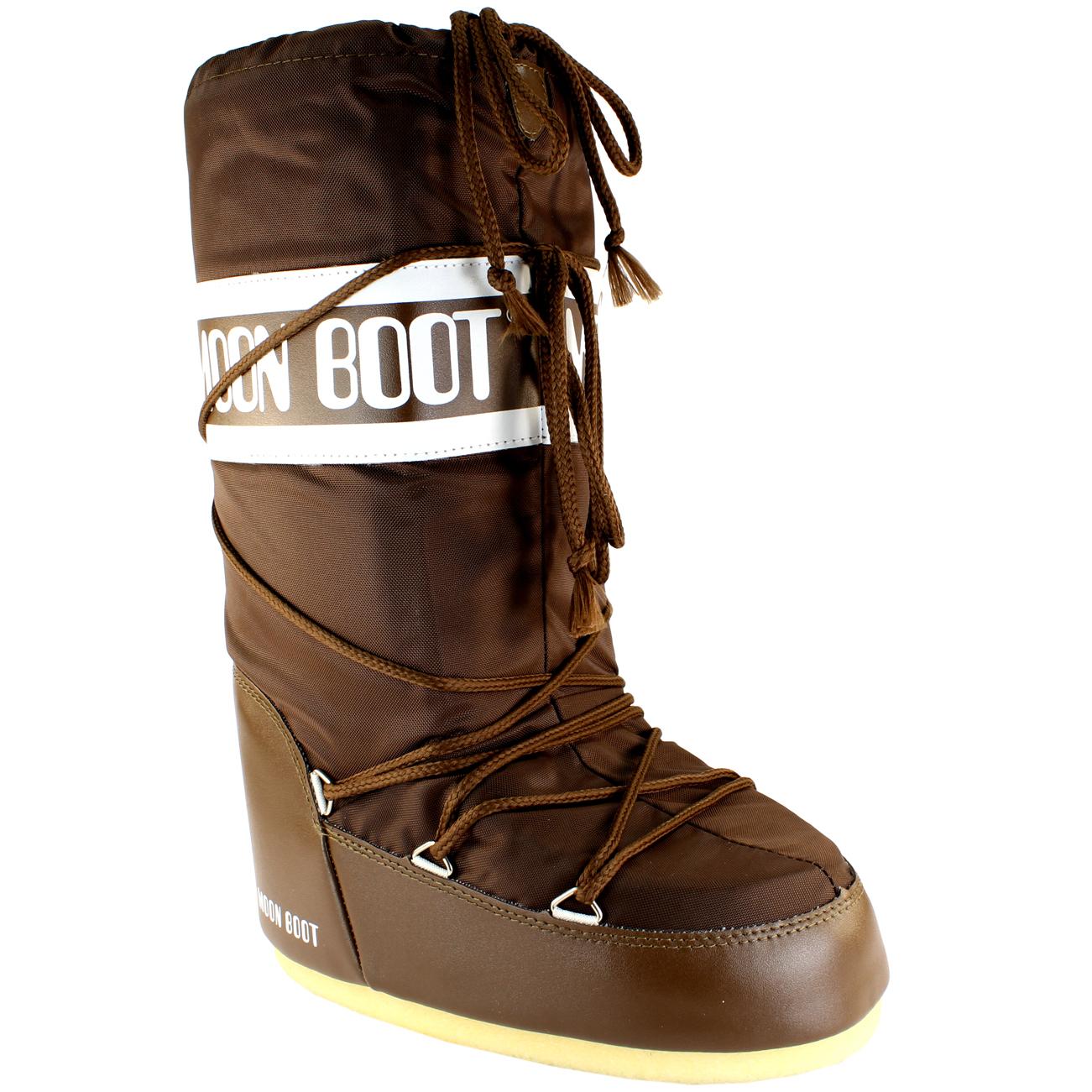 Mujer-Tecnica-Moon-Boot-Nylon-A-Prueba-De-Agua-Lluvia-Invierno-Botas-Nieve-esqui-bicis-3-8