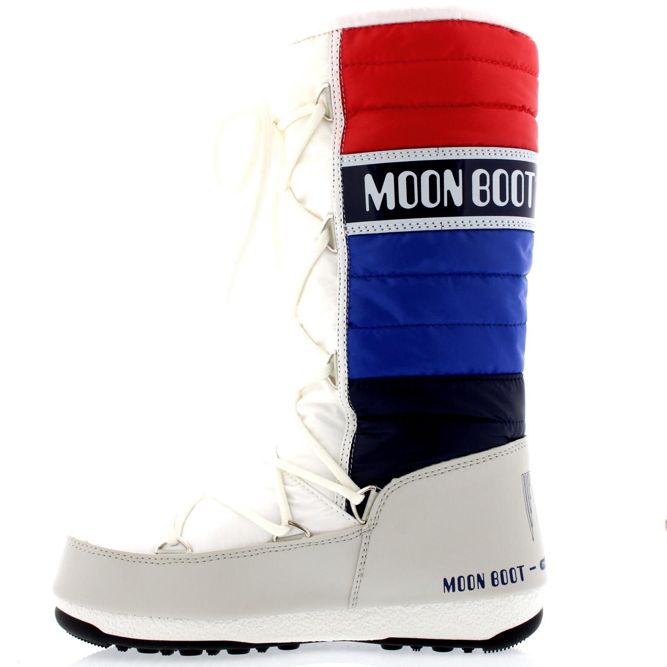Mujer Tecnica Moon bota Acolchado Impermeable Original Mitad Mitad Mitad de Pantorrilla botas De Nieve UK 3-8 071b88