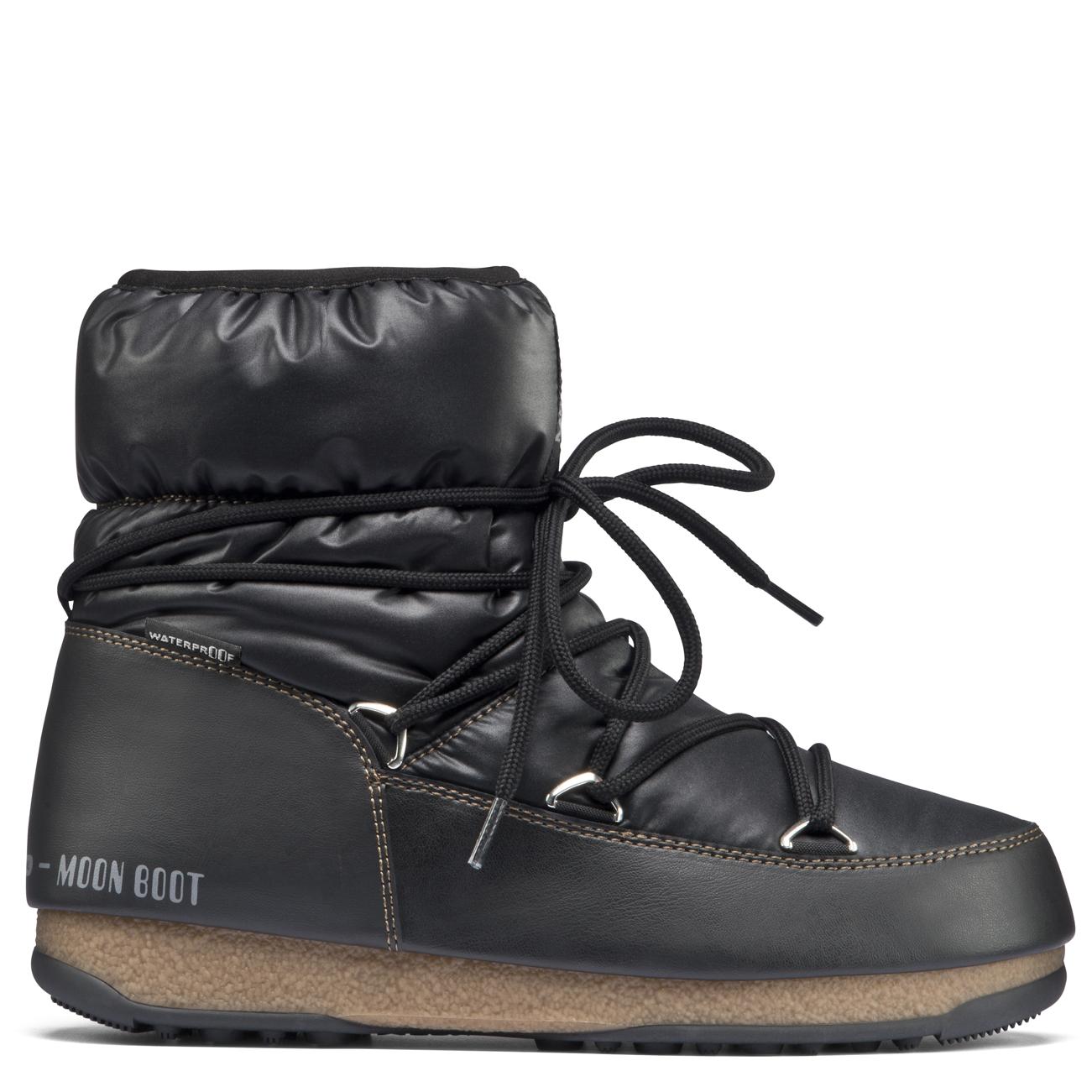 Boot Moon Boot Lune Nous Bottines Bas Nylon 34nwKPei