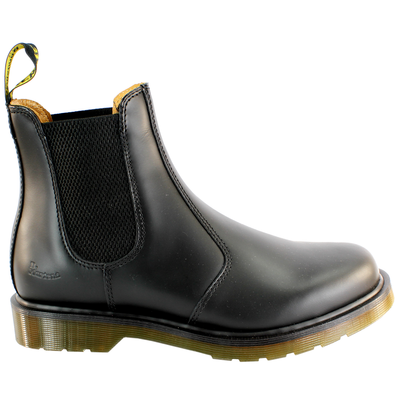 Womens Dr Martens Airwair Leather Chelsea Style Low Heel Ankle Boot ... fcf9746b29