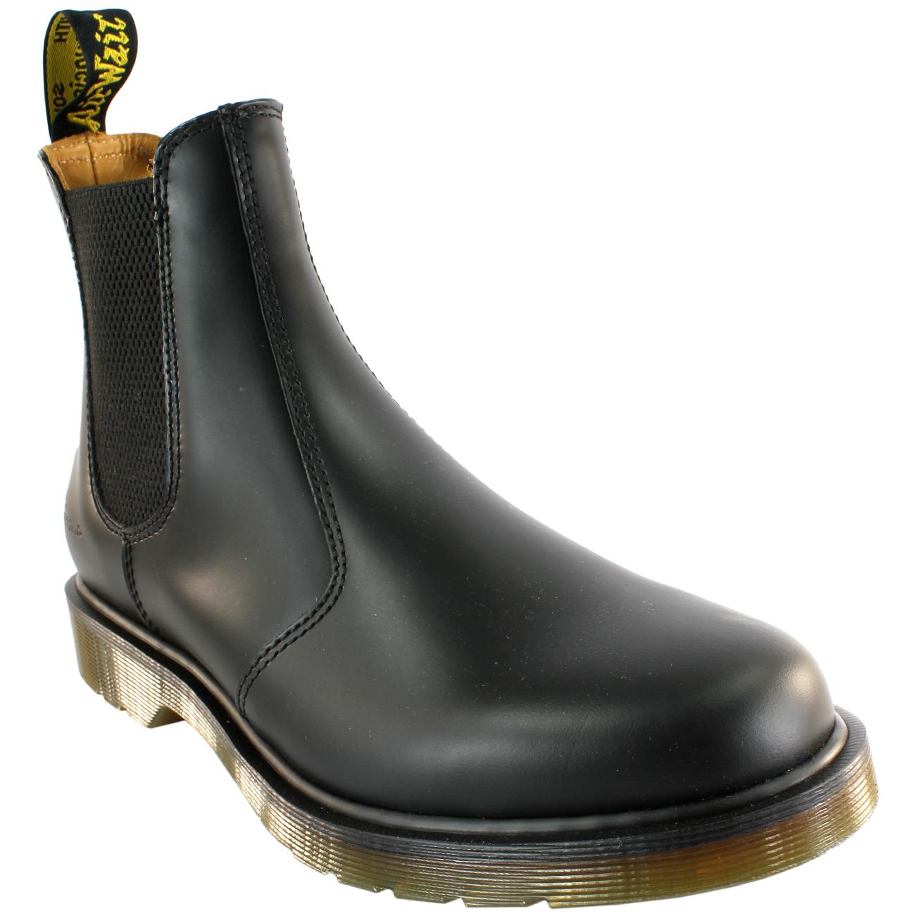 Damenschuhe Niedrig Dr Martens Airwair Leder Chelsea Style Niedrig Damenschuhe Heel Ankle Boot ... 16ef85