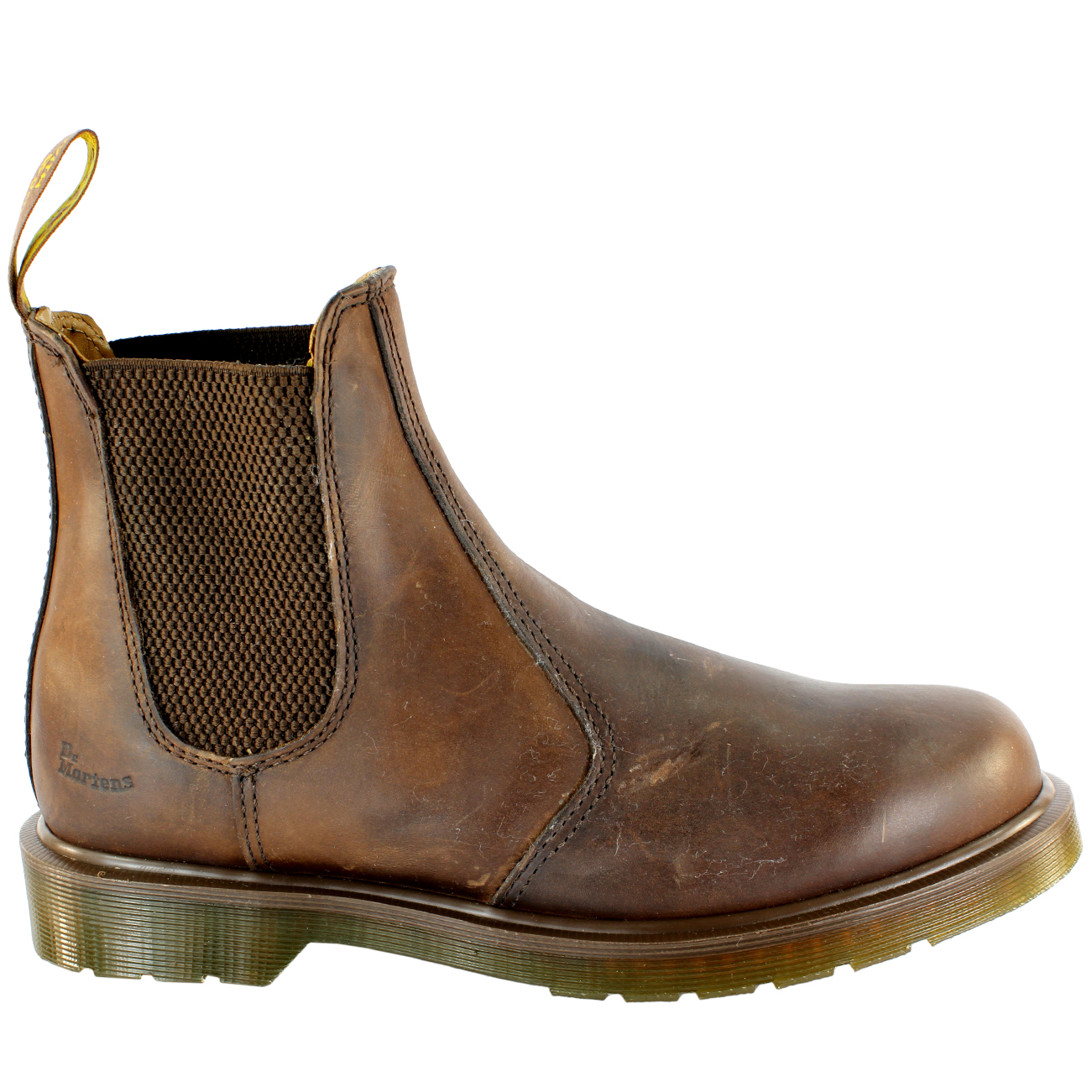 Womens Dr Martens Airwair Heel Leather Chelsea Style Low Heel Airwair Ankle Boot UK Sizes 3-8 b21b74