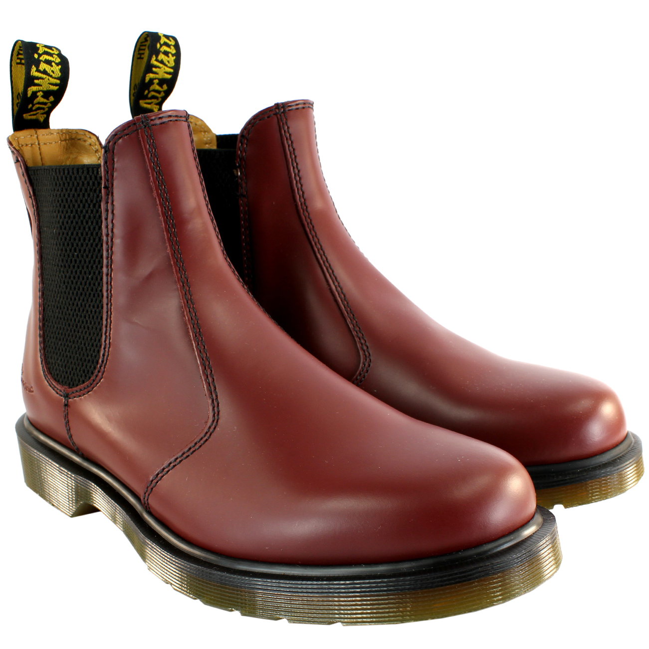 dr martens chelsea boots braun