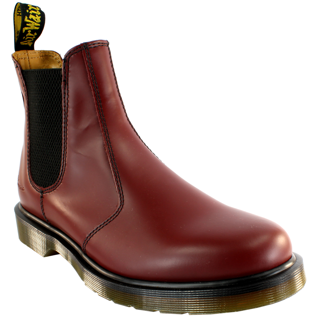 8274bd6137a Mens Dr Martens 2976 Classic Chelsea Style Leather Ankle High Boot ...