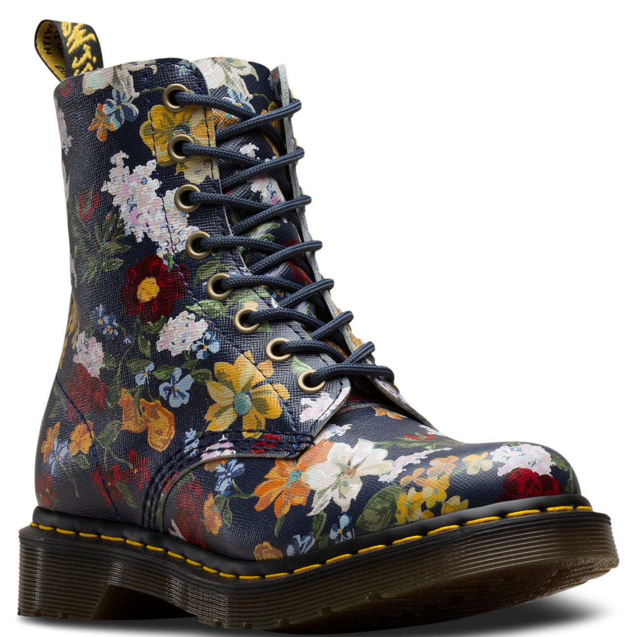 Dr Martens 1460 Darcy Pascal Floral Print