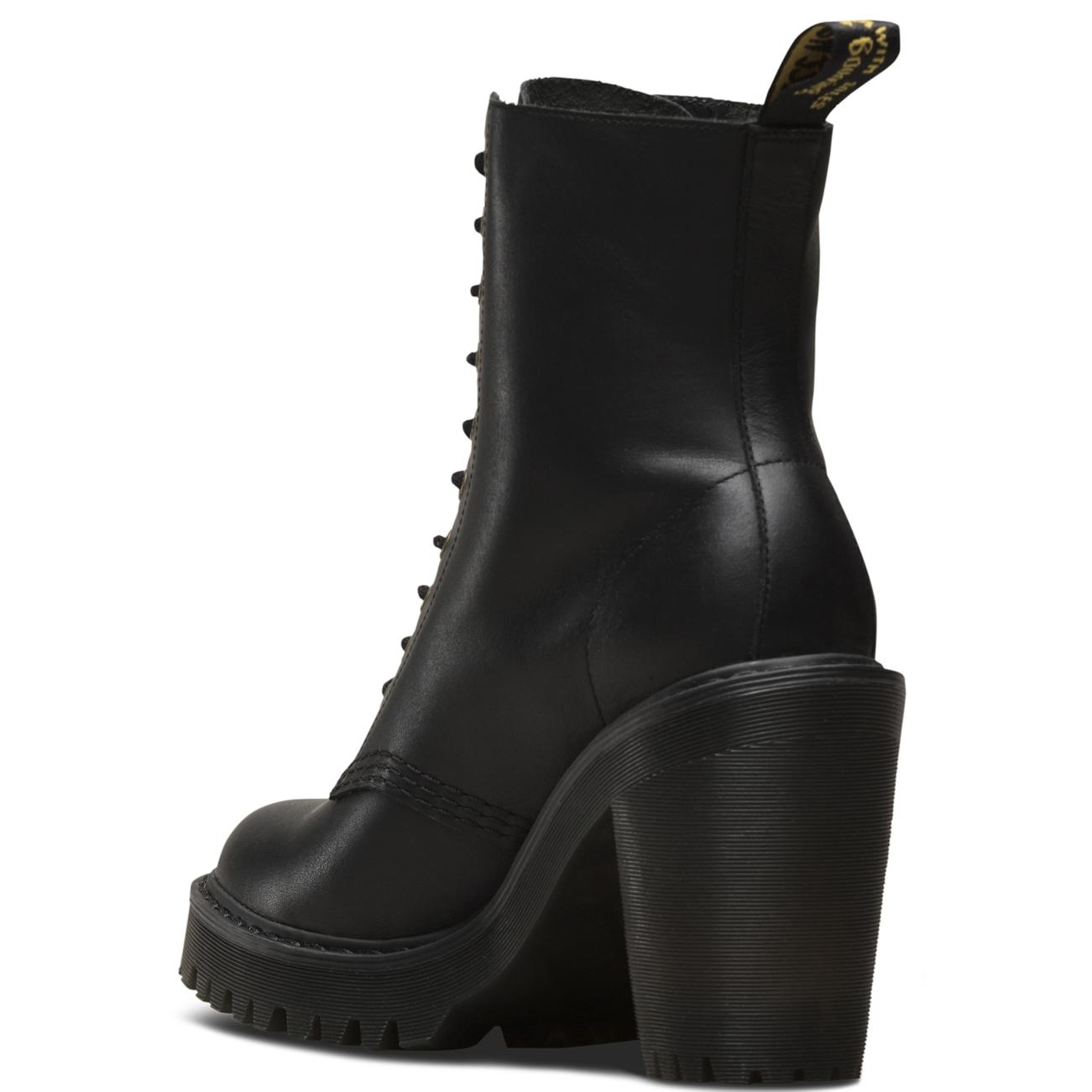 Womens Dr Martens Kendra Fusion Seirene Originals Block Heel Heel Heel Ankle Boots UK 3-9 5f478d