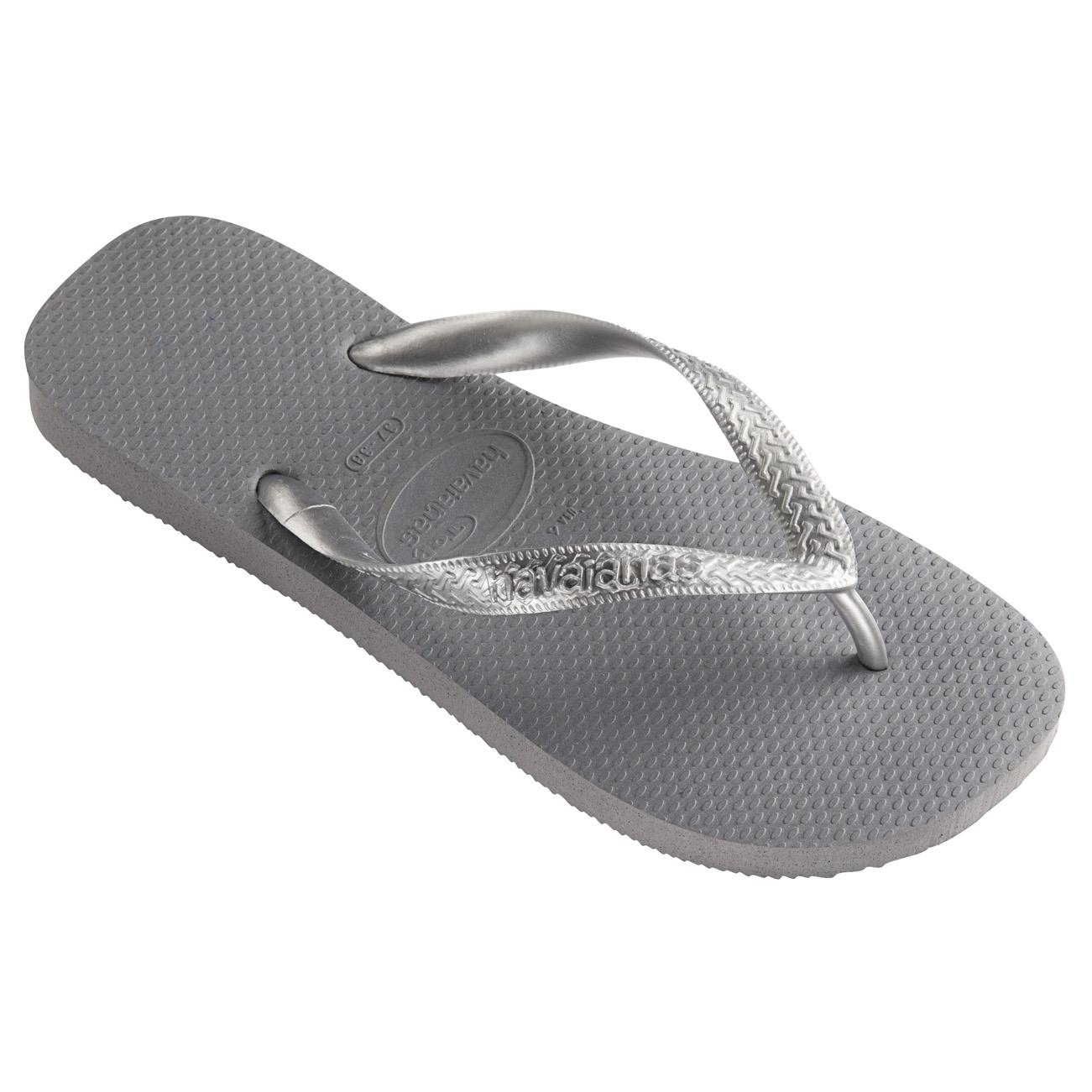 ecfea858df Details about Womens Havaianas Top Tiras Rubber Holiday Lightweight Sandals  Flip Flops UK 3-8