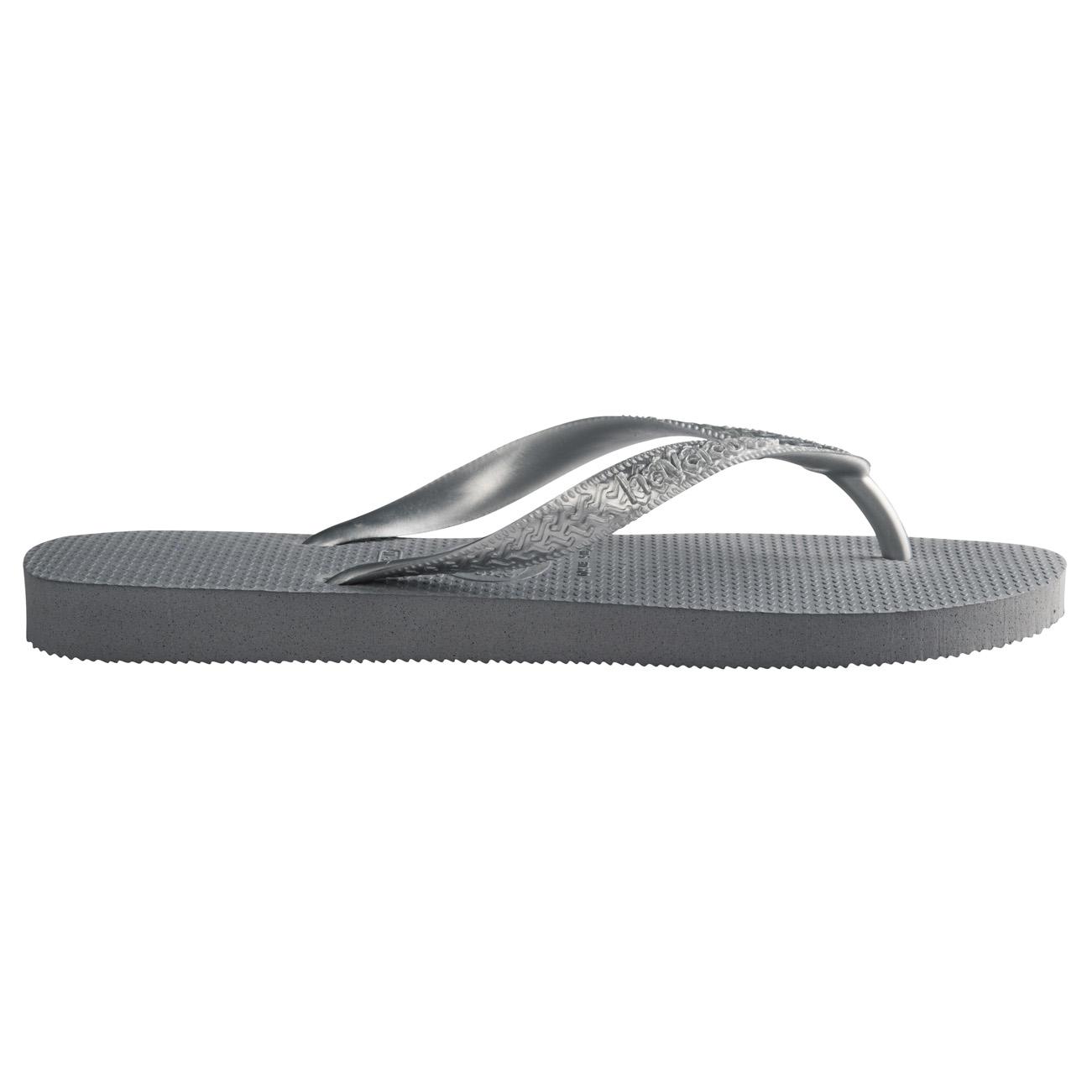 8c394c4504 Womens Havaianas Top Tiras Rubber Holiday Lightweight Sandals Flip Flops UK  3-8