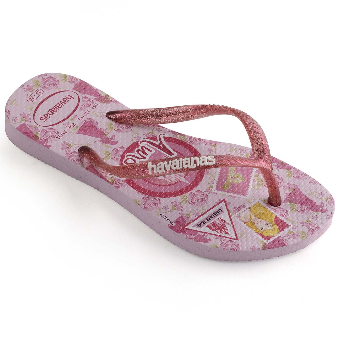 Kids Girls Havaianas Slim Princess