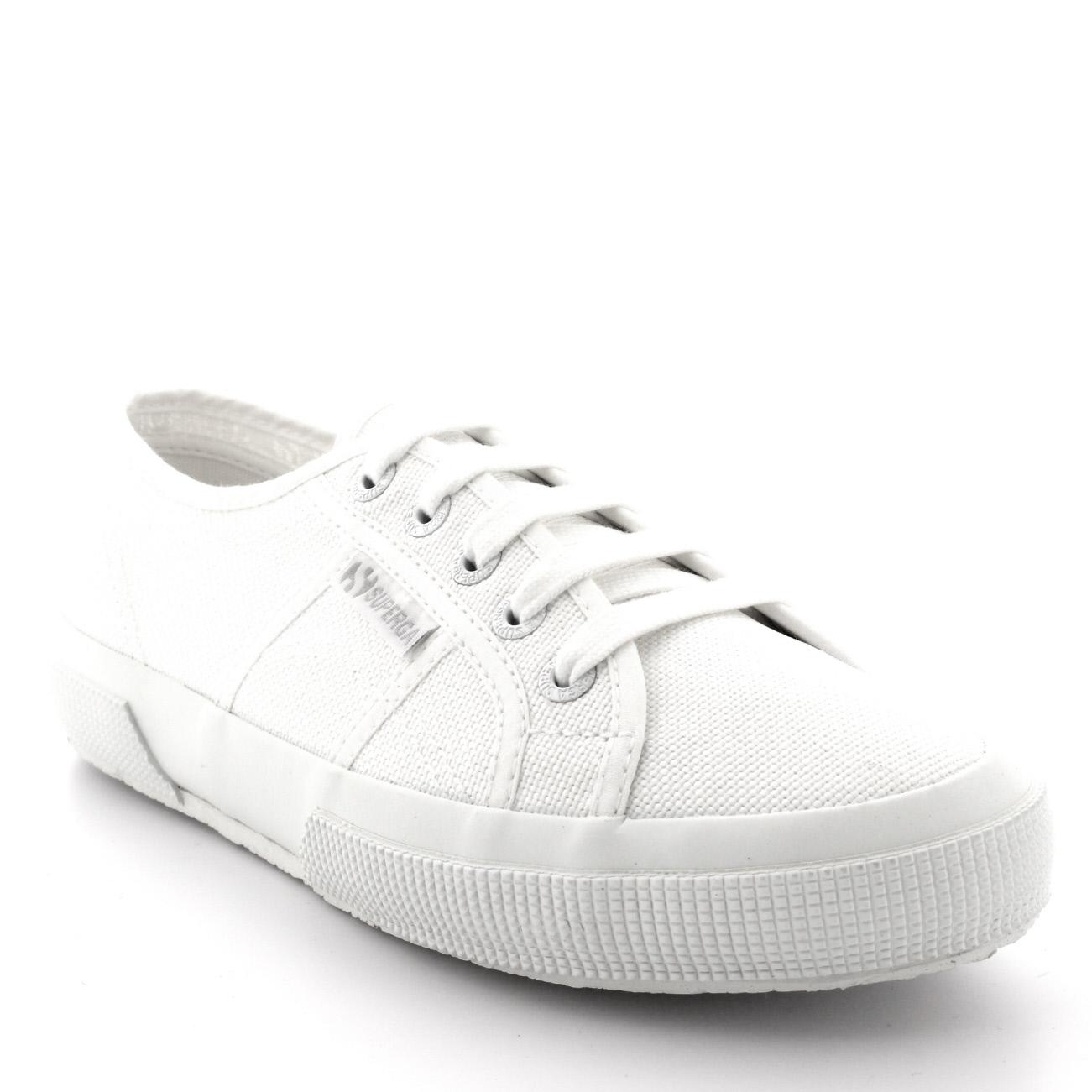 Da Donna Superga 2750 Cotu Classico bianco Sneaker basse tela estive tg UK 38