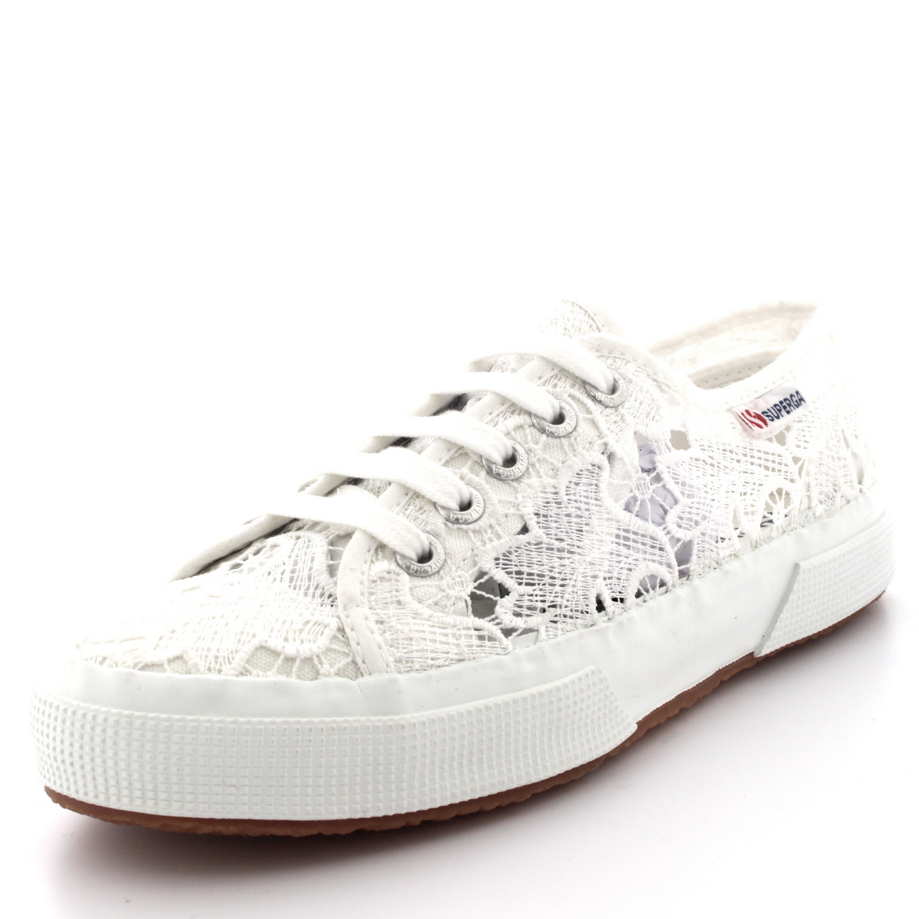 Da Donna Superga 2750 dedicarmi al macram moda pizzo Casual Basse ESTATE TG UK 38