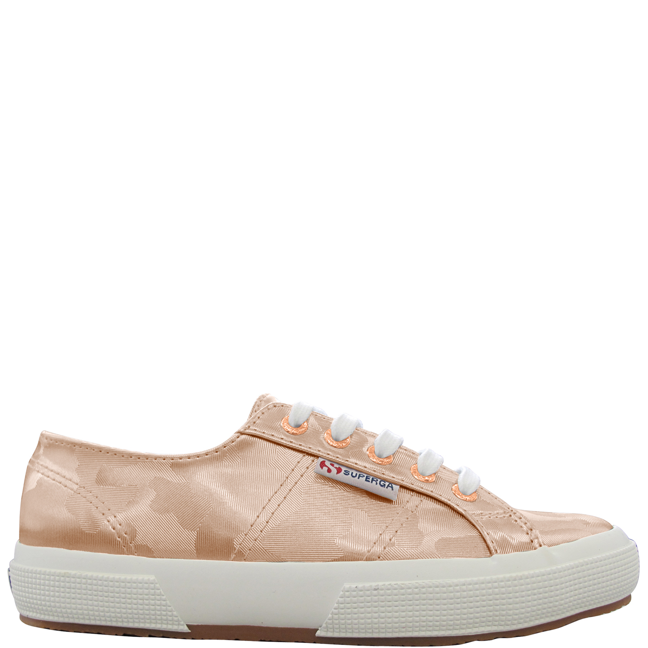 Superga 2750 Army Chrome Metallic