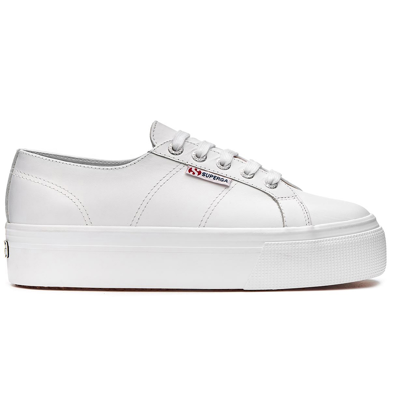 Womens Superga 2790 Nappa Flatform Wedge Summer Lace Up Fashion Trainers UK 3-9